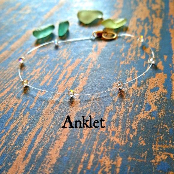 7e607185ad22e Swarovski Illusion Ankle Bracelet Boutique